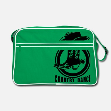 Cowboys cowboys country dance cowboys landler - Retrotasche