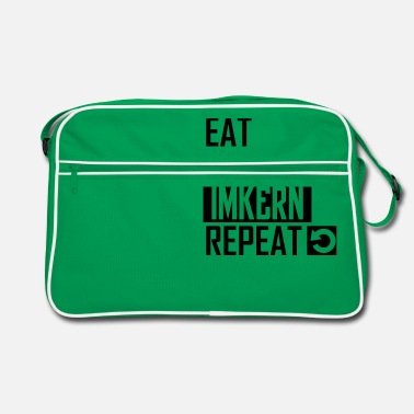Imker-2 eat sleep imkern repeat - Retrotasche