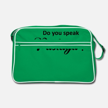 Pastaga Do you speak pastaga ? - Sac vintage
