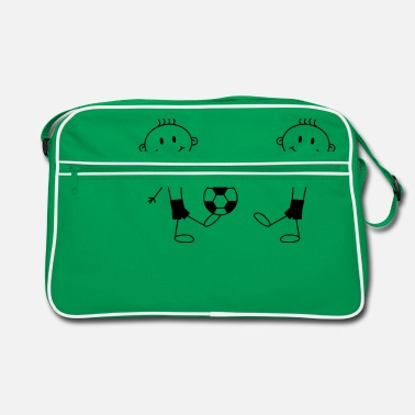 Soccer Boy Play Soccer Boys - Retro Bag