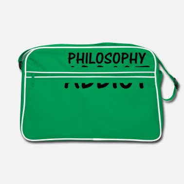 Philosophy philosophy addict - Retro Bag
