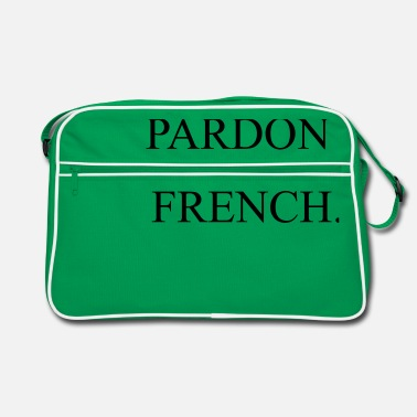 Pardon Pardon My French - Retro Bag
