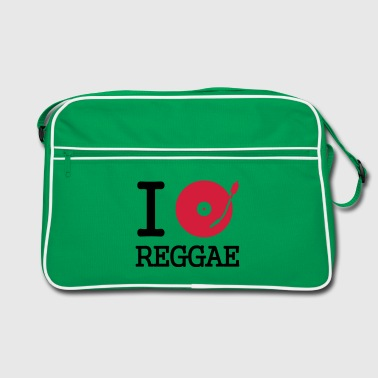 I dj / play / listen to reggae - Torba retro
