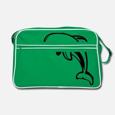 Dolphin Animal Sea - Retro Bag