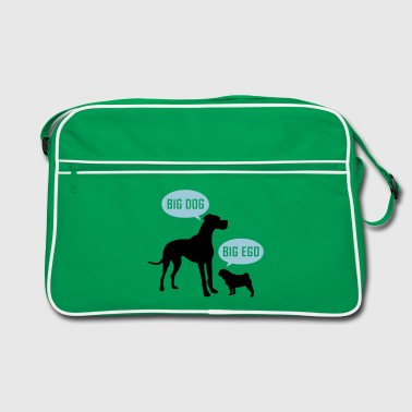 big dog big ego - Retro Tasche