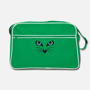 Cat Face Cat Face II / cat face - Retro Bag
