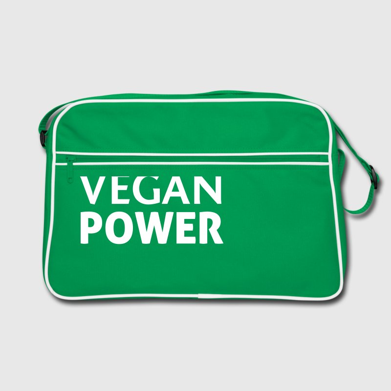 Vegan Power - Retroväska