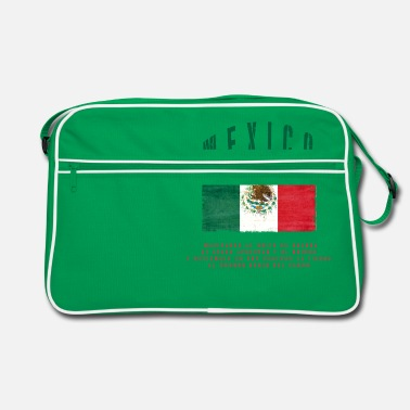 Bandera Mexican Flag Bandera Mexico - Retro Bag
