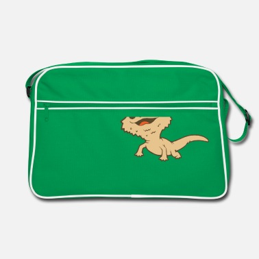 Reptile Bearded Dragon Reptile Lizard Gecko Food Grilling - Retro Bag