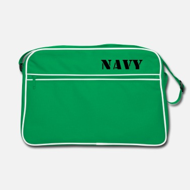 Navy NAVY - Retro Bag