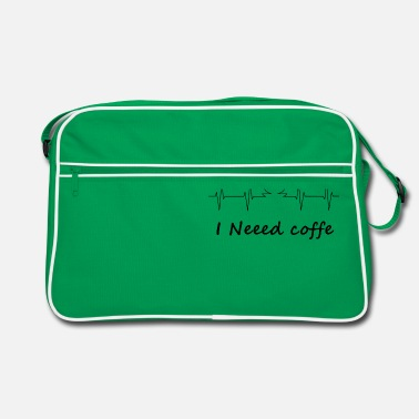 I need coffe - Retro Bag
