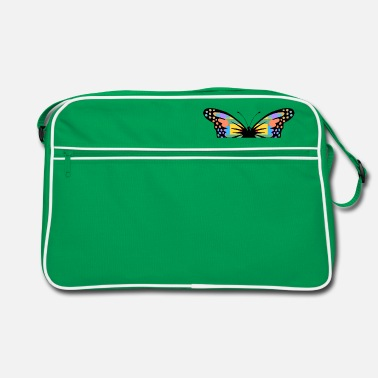 Insect butterfly - Retro Bag