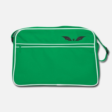 Bruce Wayne Bat / sangsues / Design Halloween - Sac vintage