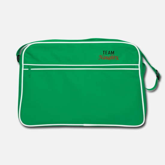 Love Bags & Backpacks - Team Naught - Retro Bag kelly green/white