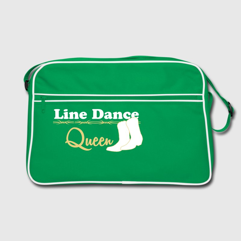 Line Dance Queen  - Retro Tasche