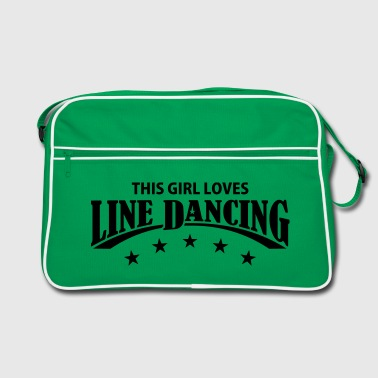 THIS GIRL LOVES LINE DANCING - Retro Tasche