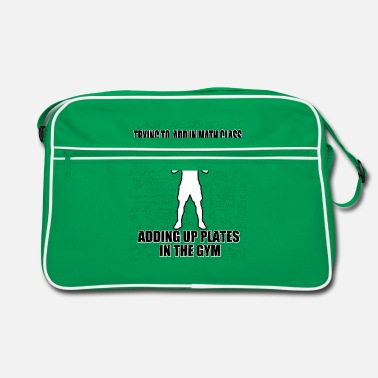 Top Up Plate In Gym - Bodybuilding - Sac vintage