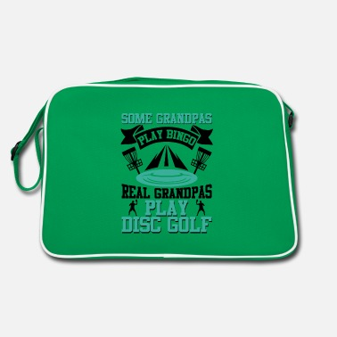 Trendsport Some Grandpas play Bingo Grandpas Play Disc Golf - Retro Bag