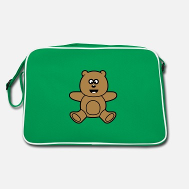 Bambini &amp Cute Kawaii Teddy Bear - Borsa retrò
