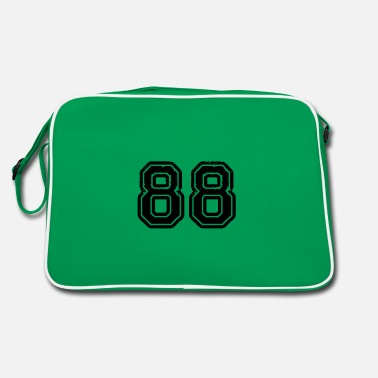 Jersey Number 88 - Retro Bag
