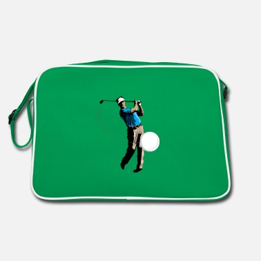 Golfer Golf golfer golf ball golf swing gift - Retro Bag