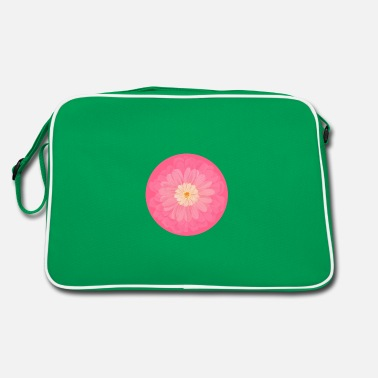 Motif rose printemps - Sac vintage