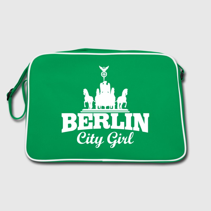 BERLIN CITY GIRL - Retro Tasche