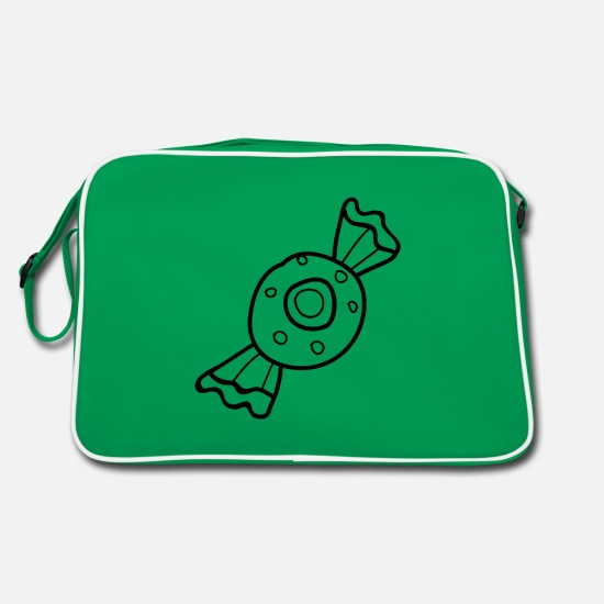 Symbol  Bags & Backpacks - Sweets - Retro Bag kelly green/white