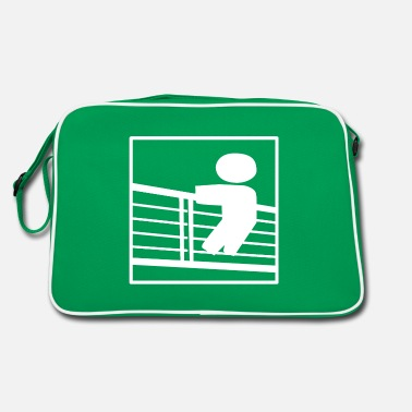 Rails Onlookers, railings - Retro Bag