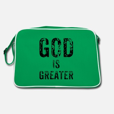 Greater God is greater - Retro Bag