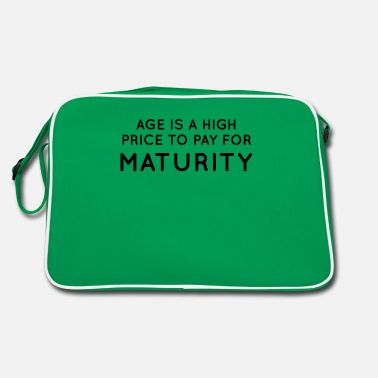 Mature Maturity - Retro Bag