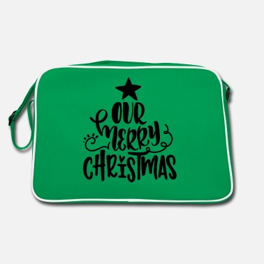 Abend Our Merry Christmas - Retrotasche