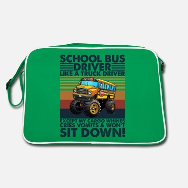 Detroit School Bus Driver Like A Truck Driver T Shirt - Retro Bag