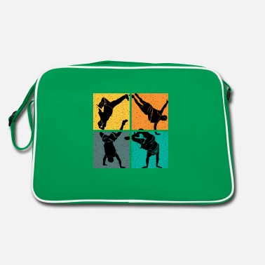 Bboy Breakdance dance vintage - Retro Bag