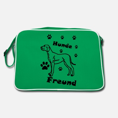 Dog Lovers Dog lover dog lover - Retro Bag