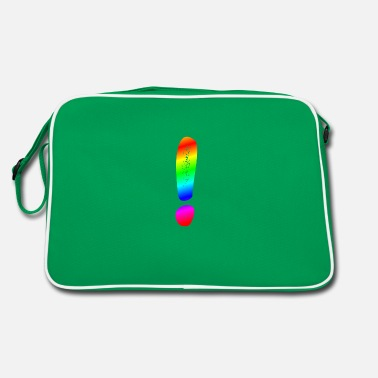 Punctuation Marks Exclamation point! - Retro Bag