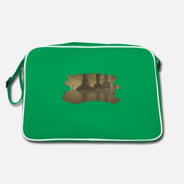 Rlyeh R'Lyeh sepia paintbrush - Retro Bag