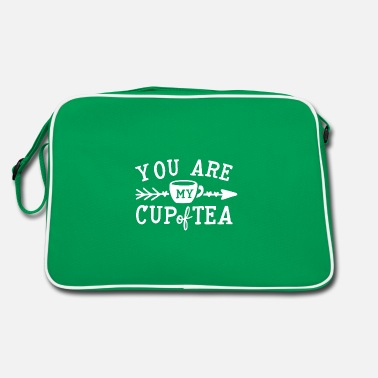 You are my cup of tea humor gift - Retro Bag