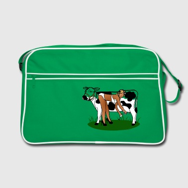 Cow Milking Dry - Sac Retro