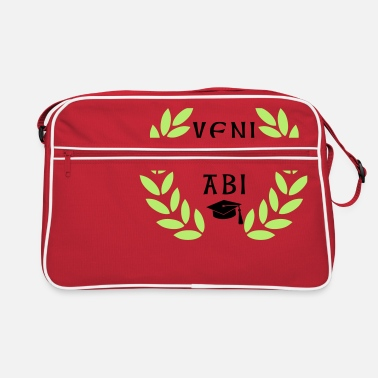 Saying veni vidi abi - Retro Bag