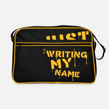 Writing Just writing my name - Sac vintage