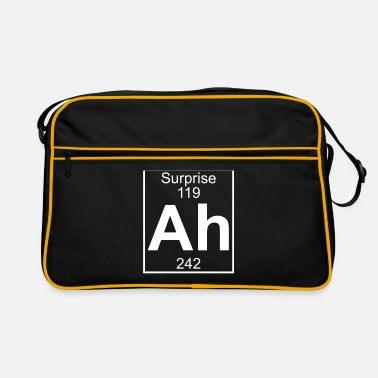 Periodic Table Ah - the Element of Surprise - Retro Bag