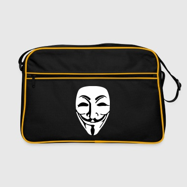 Anonymous ondoorzichtig - Retro-tas