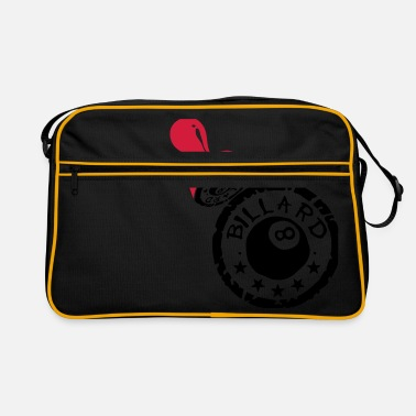 Buffer billiards buffer - Retro Bag