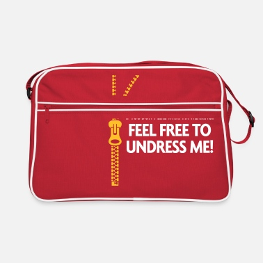 Playing Underwear You Do Not Like My Clothes? Undress Me! - Retro Bag