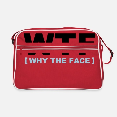 Geek WTF - why the face - Retro veske