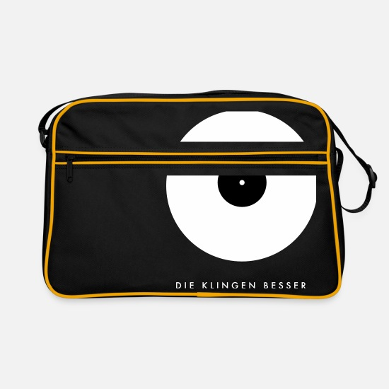 Vinyl Bags & Backpacks - The blades are better - Black Edition - Retro Bag black/gold
