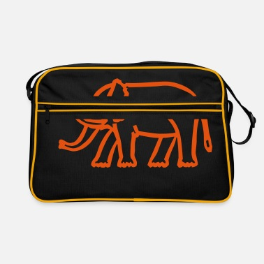 Africa elephant - Retro Bag