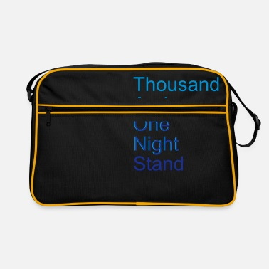 Amusant thousand and one night stand (2colors) - Sac vintage