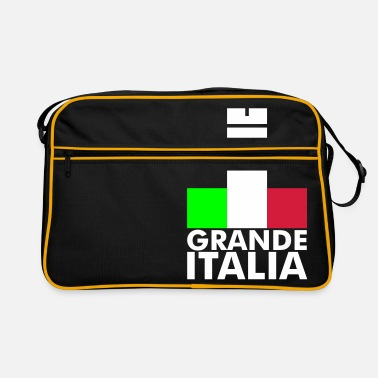 Italy Underwear Italia Italy flag - grande italia - provocative - Retro Bag